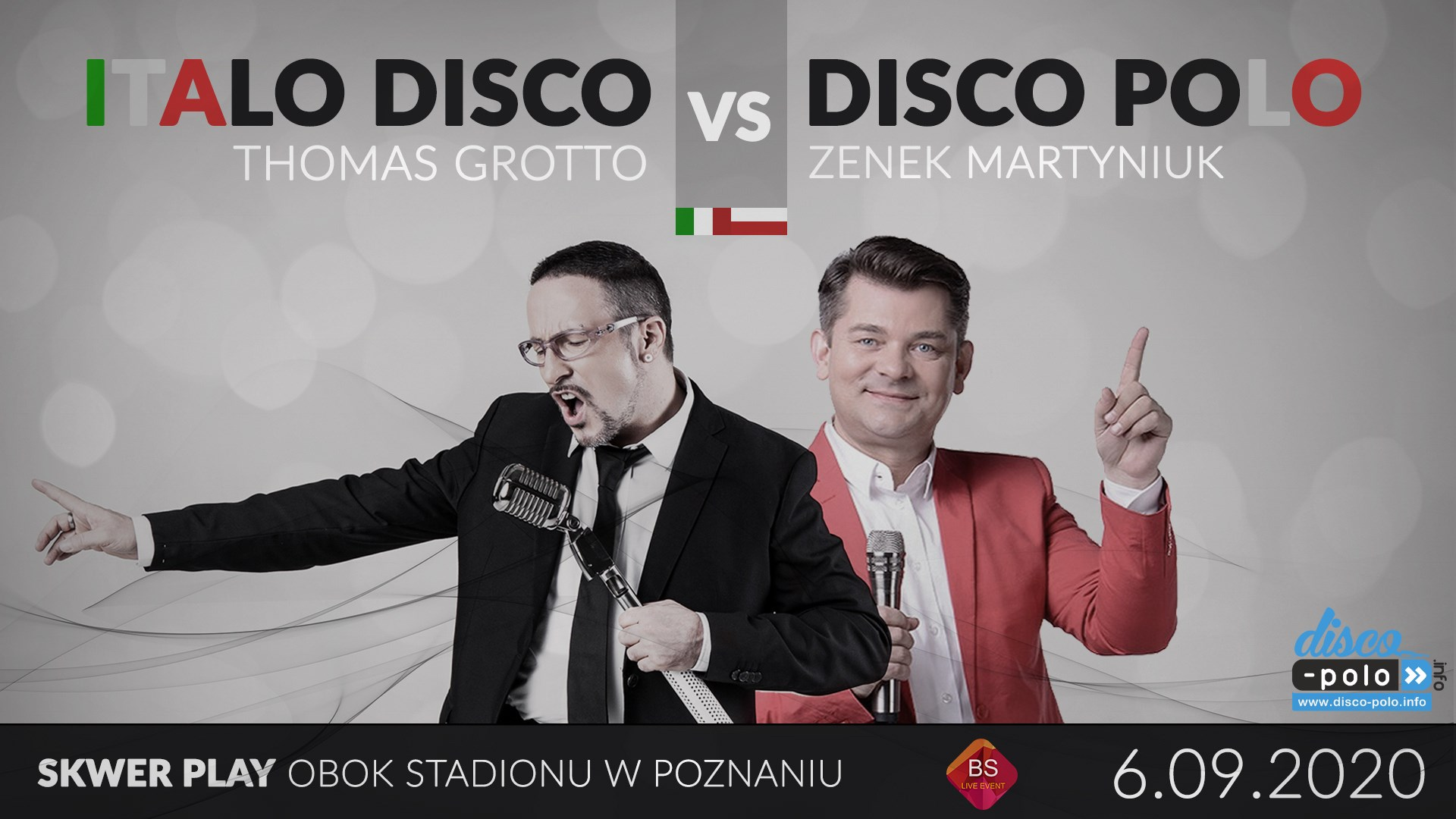 ITALO DISCO VS DISCO POLO - Zenek Martyniuk i Thomas Grotto